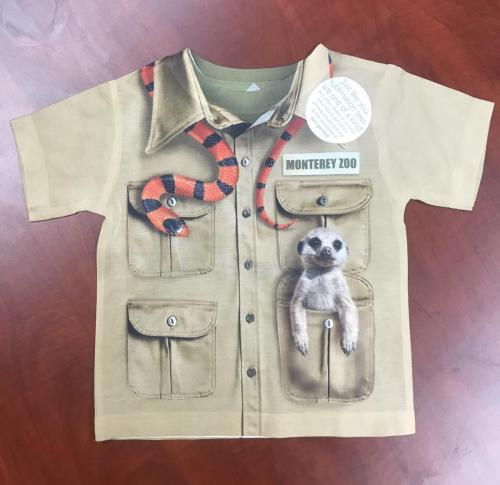 Toddler Safari Shirt $15<br />Sizes: 2T, 3T, 4T