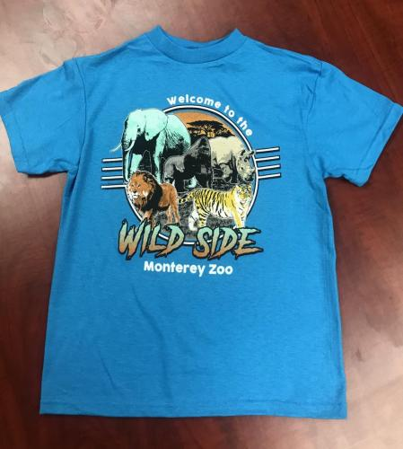 Kids Wild Side Shirt $15<br />Sizes: 2-4, 6-8, 10-12, 14-16