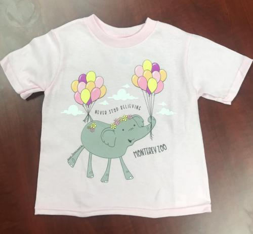 Toddler Never Stop Believing Shirt $15<br />Sizes: 2T, 3T, 4T