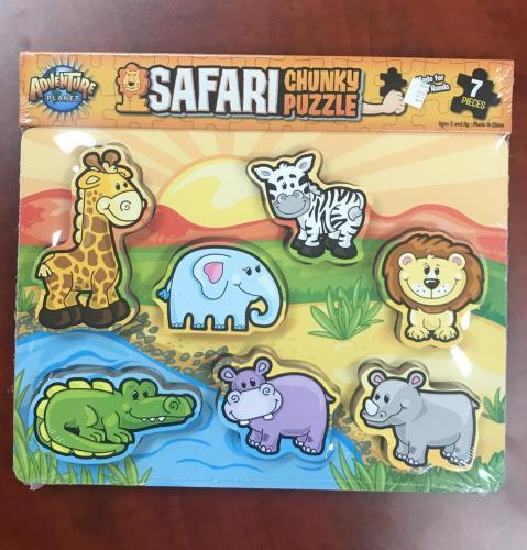 Wood Animal Puzzle $10