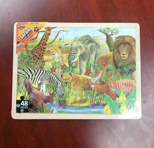 Safari Wood Puzzle $10