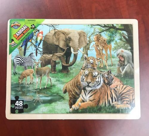 Jungle Wood Puzzle $10