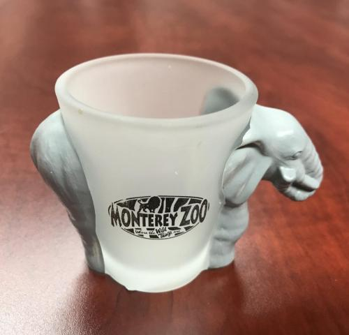 Monterey Zoo Shot Glass $6